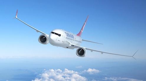 Turkish Airlines 737 MAX 8 ArtworkK66146