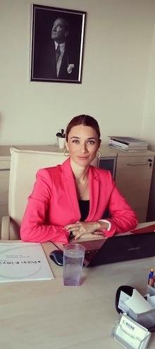 Polin Kimya Satış ve Pazarlamadan Sorumlu Genel Müdür Yardımcısı Eda Coşkunsu Demiralp