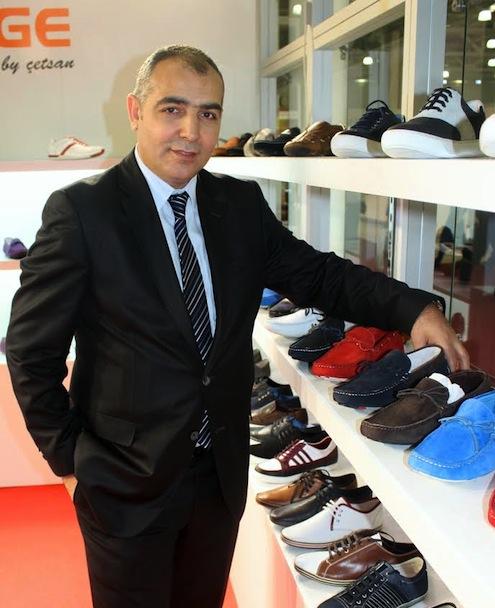 Türkiye Ayakkabı Sanayicileri Derneği (TASD) Başkanı Hüseyin Çetin
