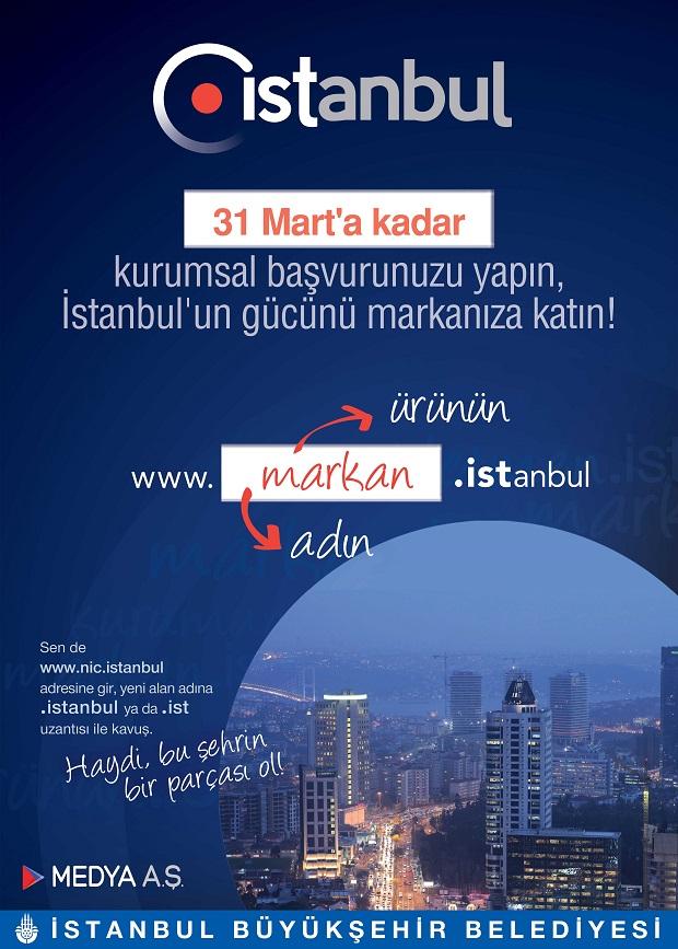 Türk markaları için internette nokta istanbul dönemi başlıyor