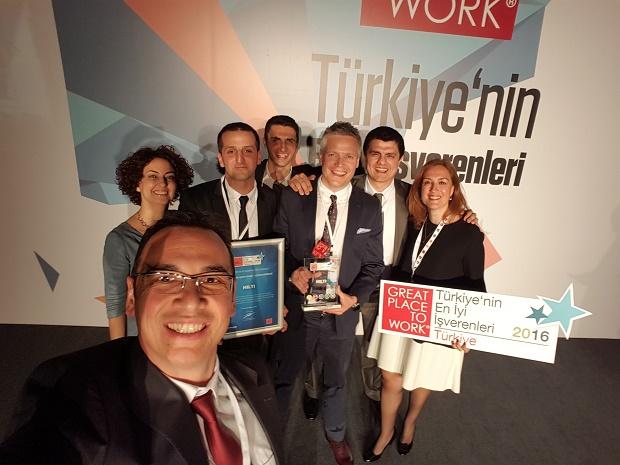 Türkiye'nin En İyi 4. İşvereni Hilti Türkiye