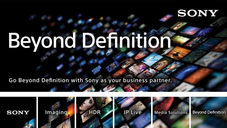 Sony, profesyonel ürünlerinde HDR prodüksiyon yeteneklerini artırıyor