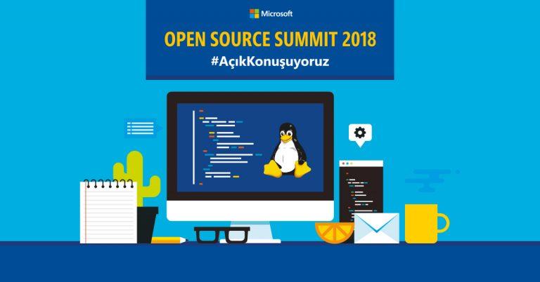 Açık kaynak tutkunları Microsoft Open Source Summit 2018'de bir araya gelecek