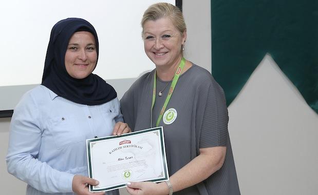Muratbey'den kadın süt üreticilerine destek