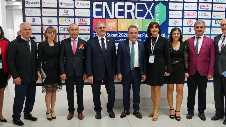 ENEREX Antalya Fuarı ziyarete açıldı