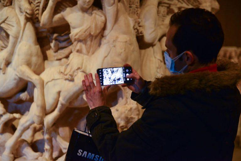 Müzede Selfie Günü'nde efsaneler bir araya geldi!