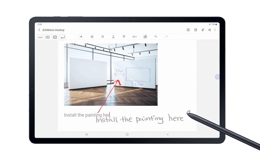 <strong>Galaxy Tab S7 ve Galaxy Tab S7+ tabletler için yeni bir güncelleme geliyor!</strong>