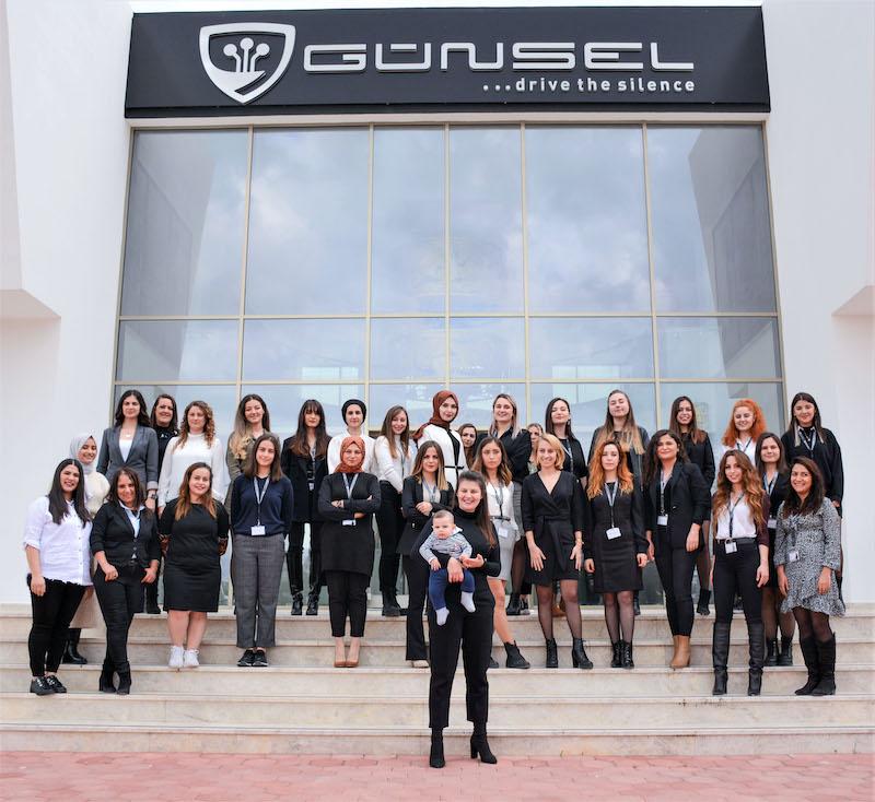 <strong>GÜNSEL'de Kadınlar Üretim ve AR-GE'nin Merkezinde!</strong>