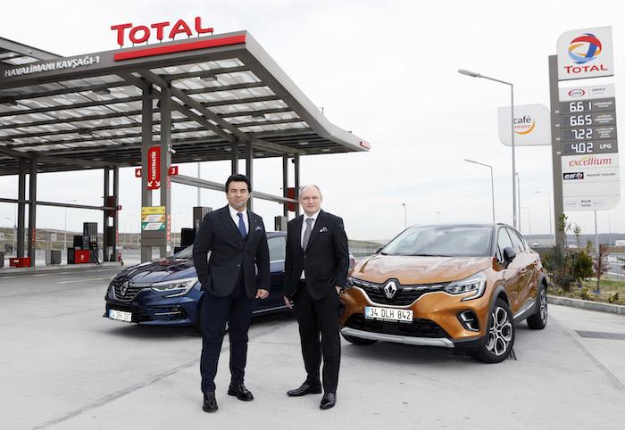 <strong>TOTAL'den yapacağınız akaryakıt alışverişleriyle Renault aracınız güvende</strong>