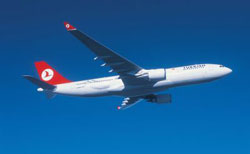 Uluslararası hava trafiği Ocak'ta yüzde 85.6 düştü