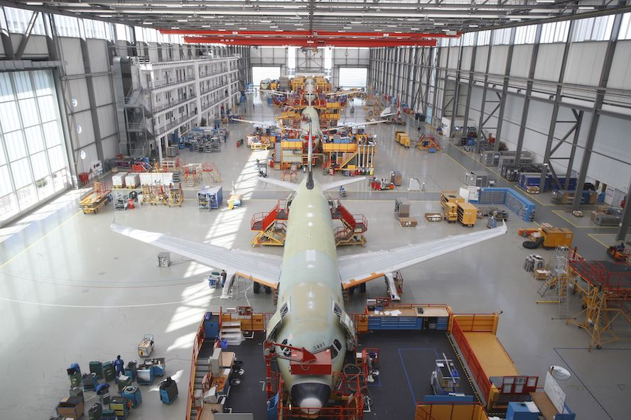 CEVA Logistics, Hamburg'da Airbus Üretim Tedarik Sözleşmesi İmzaladı