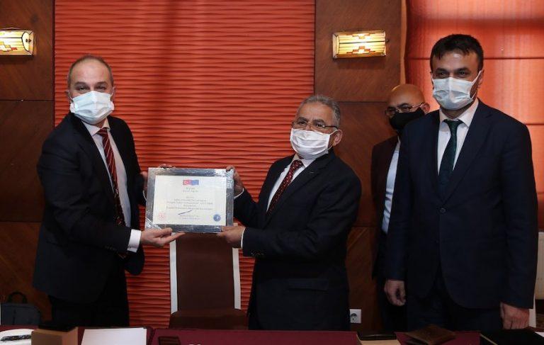 Kayseri Erciyes'e Bir Ödül de Avrupa Komisyonu'ndan