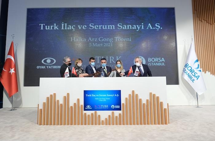 <strong>OYAK Yatırım liderliğinde gerçekleştirilen TURK İlaç ve Serum Sanayi A.Ş. halka arzına rekor talep</strong>