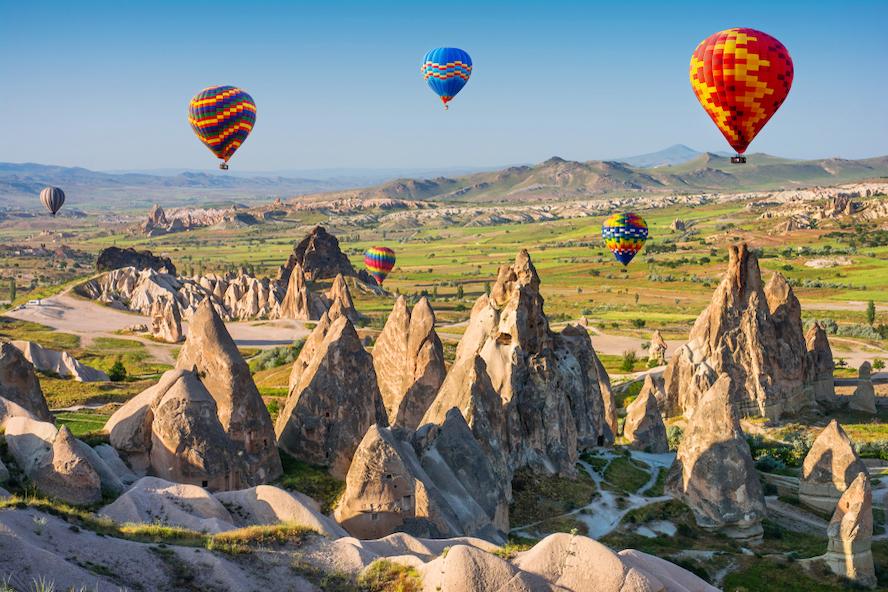 Enuygun kullanıcıları seçti: En romantik yer Kapadokya