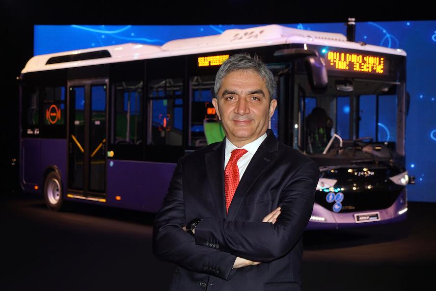 Avrupa ve Amerika'nın İlk Seri Üretim Sürücüsüz Otobüsü Otonom Atak Electric Yollara Çıkıyor