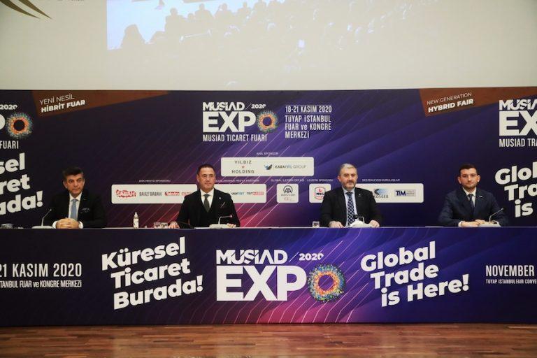 PANDEMİ SONRASI YAPILAN EN BÜYÜK FUAR MÜSİAD EXPO 2020 OLACAK