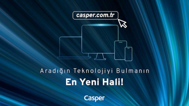 Yenilenen Casper.com.tr ile tüketici dostu alışveriş deneyimi