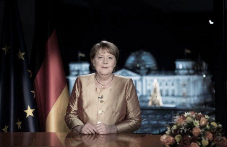 Merkel: 2020 nefessiz bir yıldı