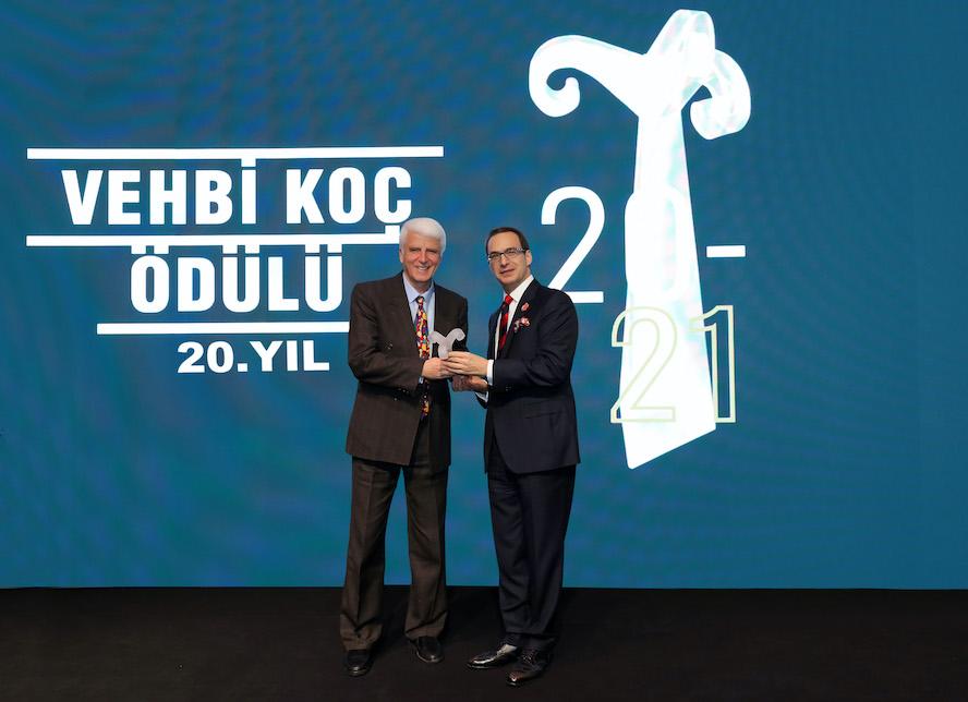 <strong>Prof. Dr. Hüseyin Vural 20. Vehbi Koç Ödülü'nün sahibi oldu</strong>